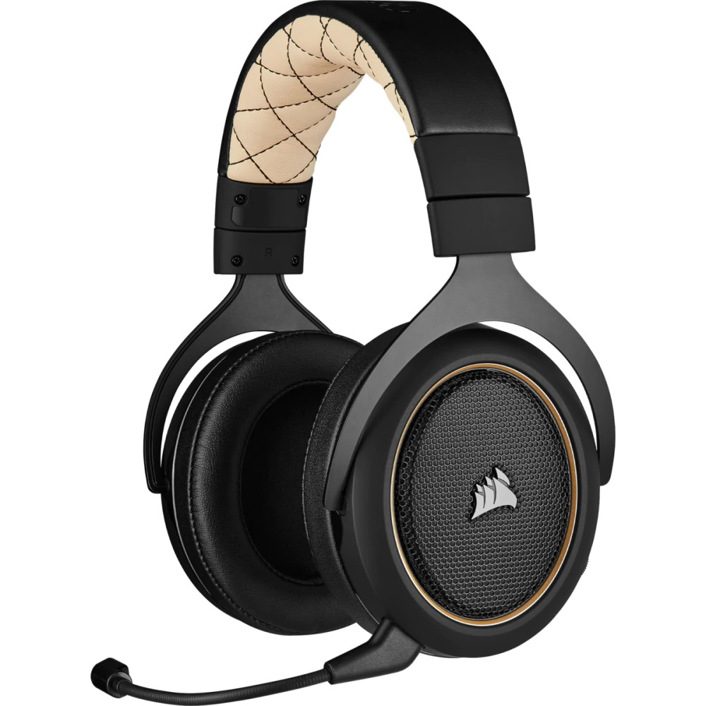 Corsair HS70 PRO WIRELESS Gaming Headset — Cream 1