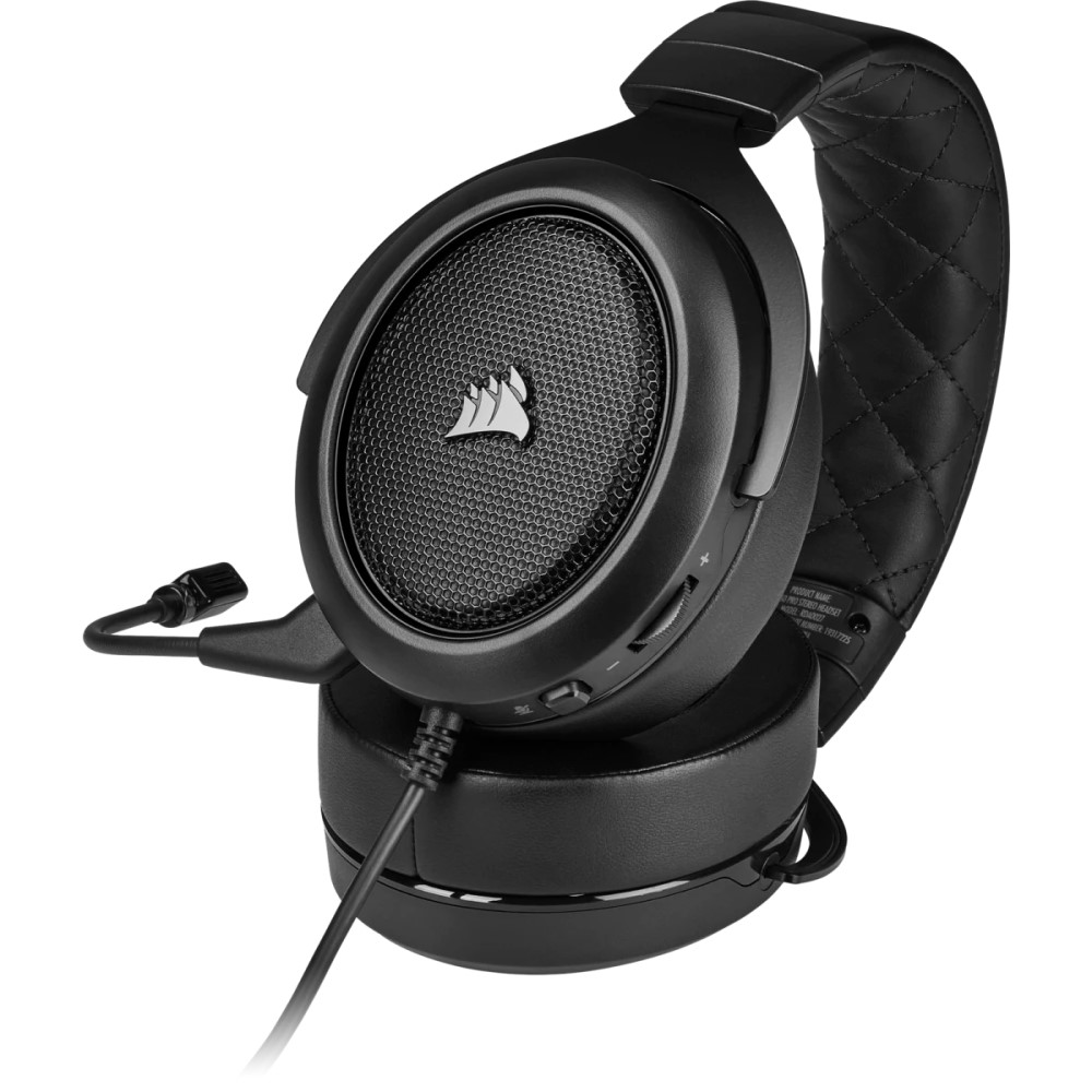 Corsair HS50 PRO STEREO Gaming Headset — Carbon 7
