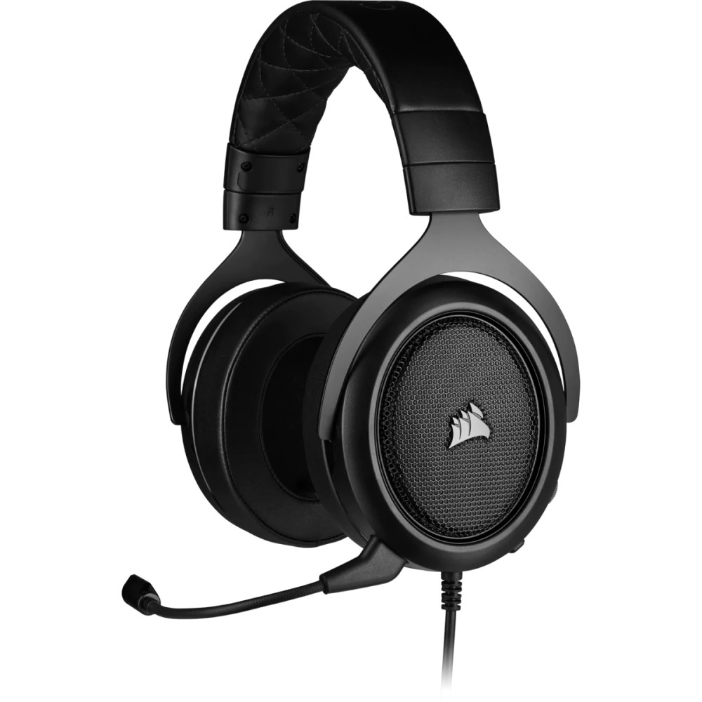 Corsair HS50 PRO STEREO Gaming Headset — Carbon 1
