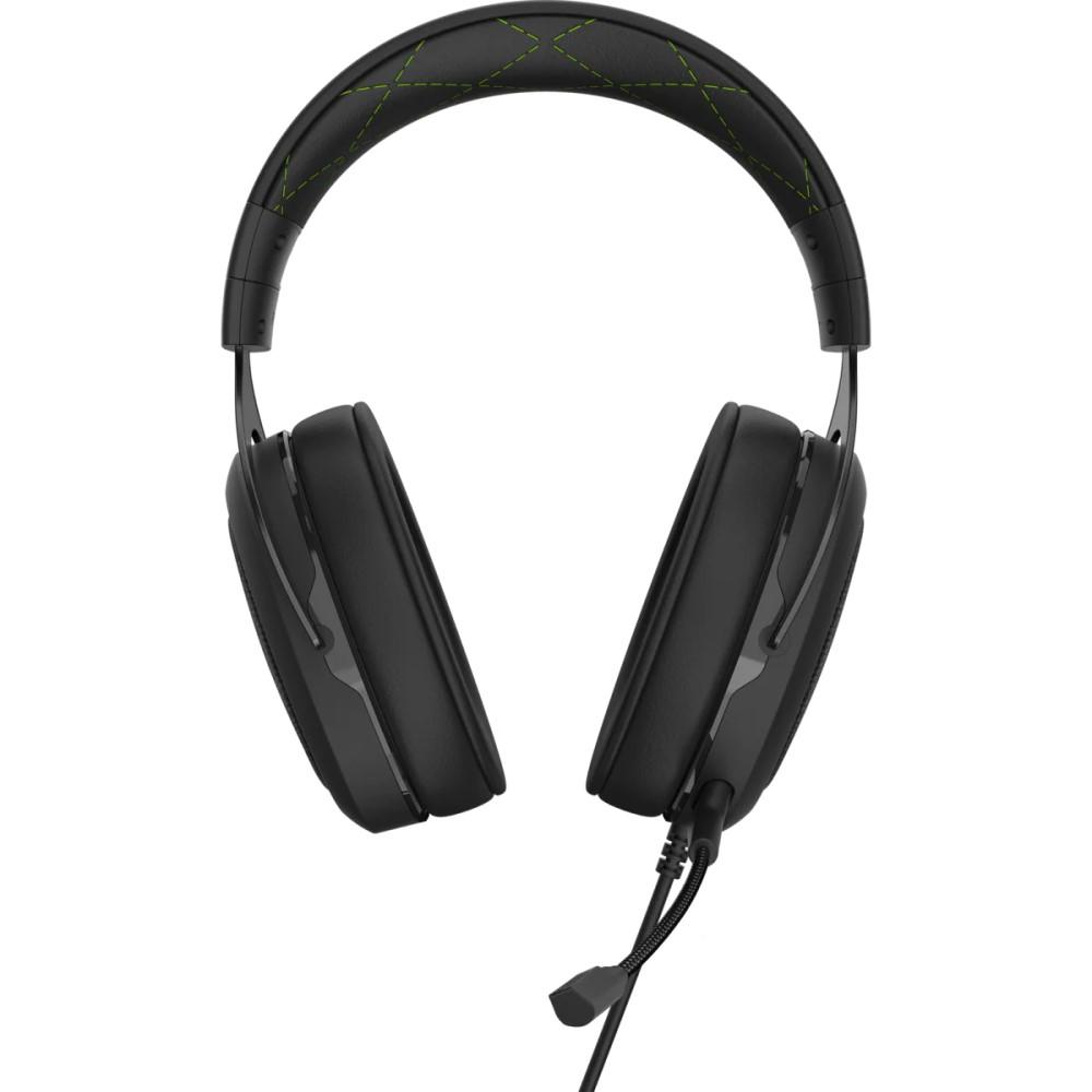 Corsair HS50 PRO STEREO Gaming Headset — Green 4
