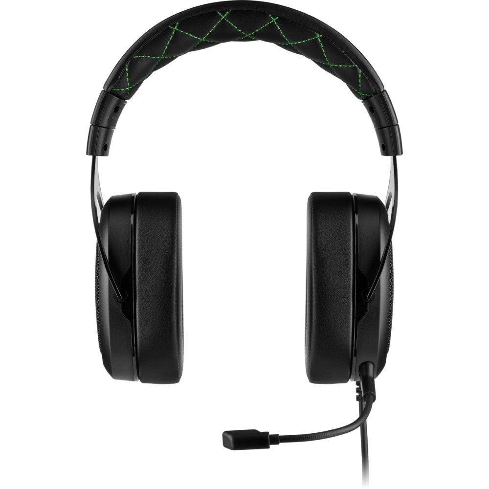 Corsair HS50 PRO STEREO Gaming Headset — Green 9