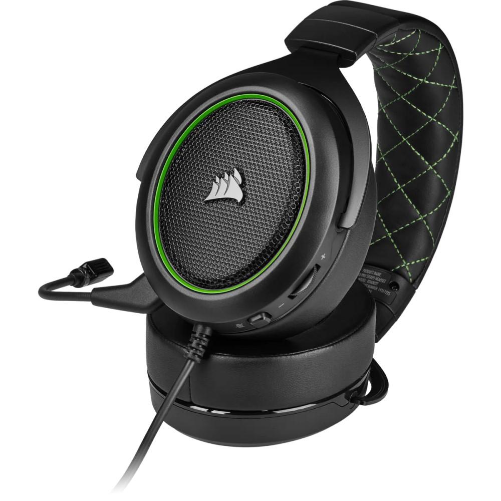 Corsair HS50 PRO STEREO Gaming Headset — Green 13