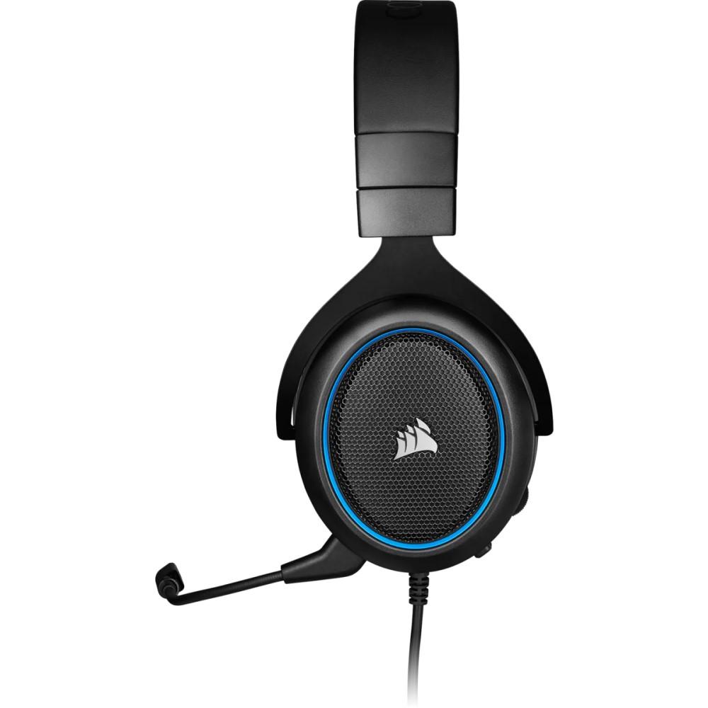 Corsair HS50 PRO STEREO Gaming Headset — Blue 2