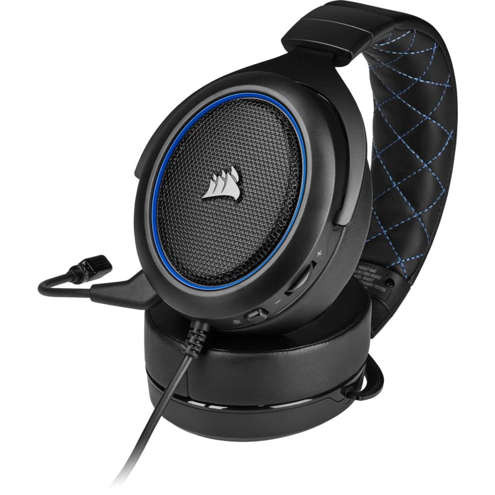 Corsair HS50 PRO STEREO Gaming Headset — Blue 4