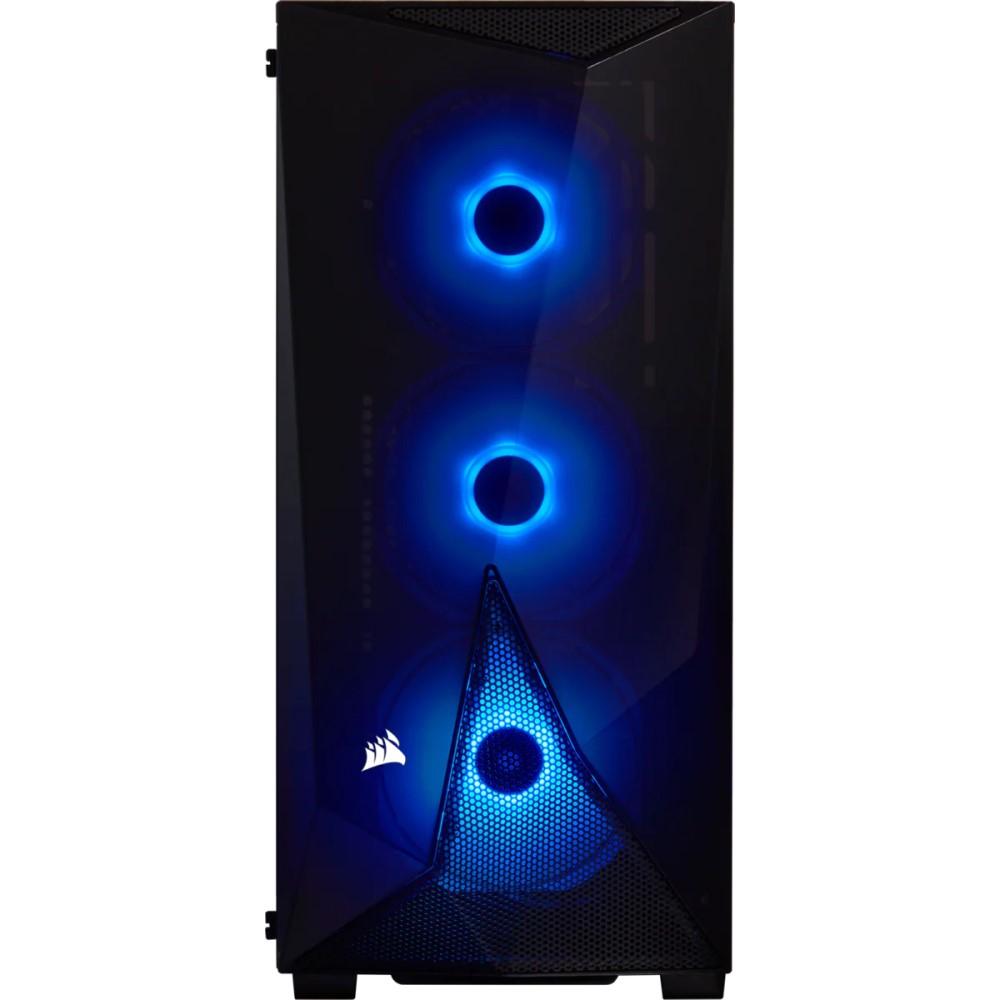 Corsair Carbide Series SPEC-DELTA RGB Tempered Glass Mid-Tower ATX Gaming Case — Black 6