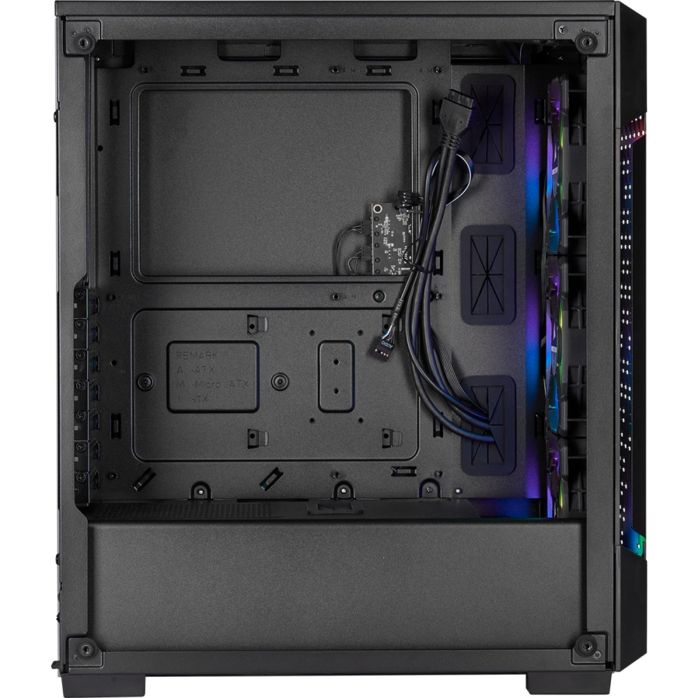 Corsair iCUE 220T RGB Airflow Tempered Glass Mid-Tower Smart Case — Black 3