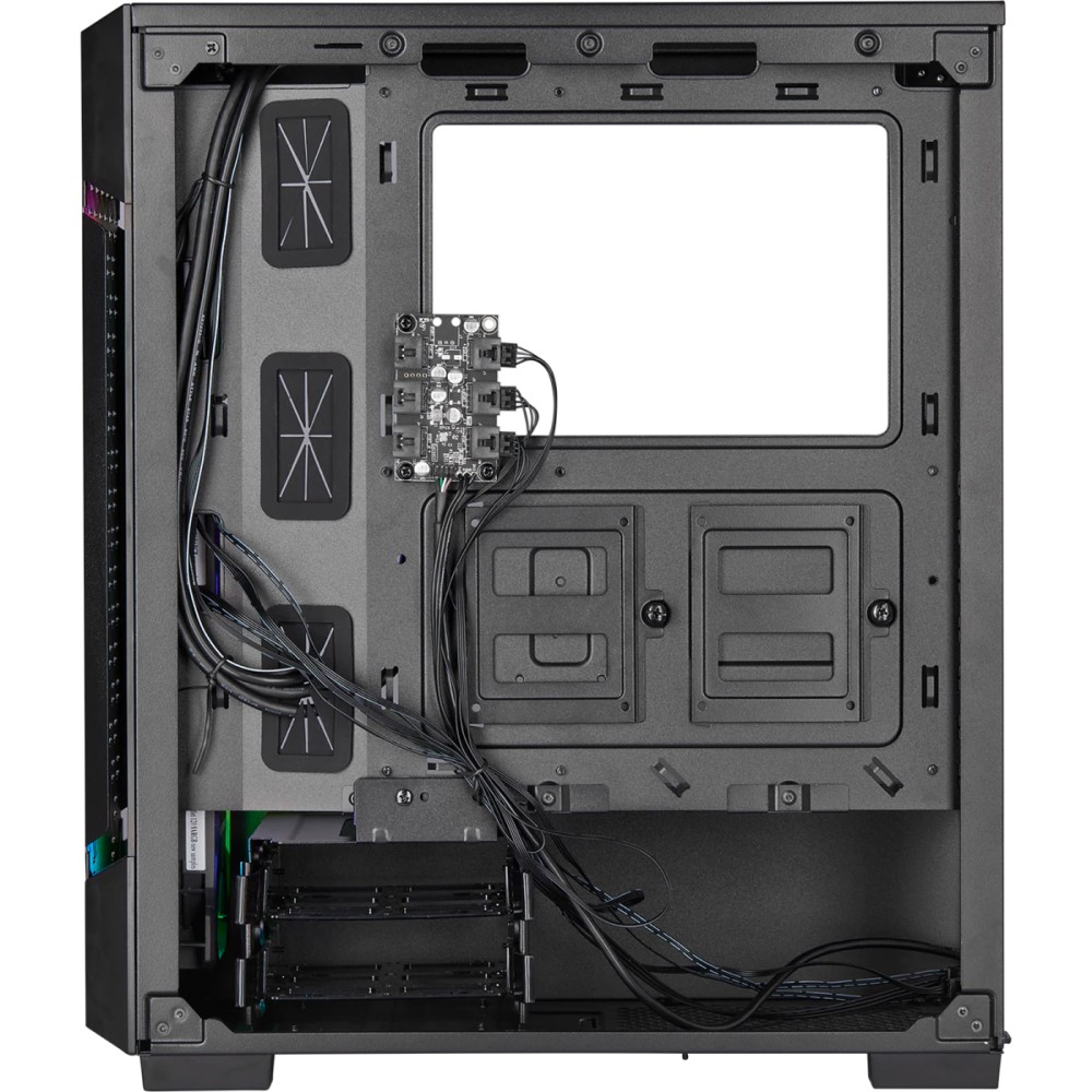 Corsair iCUE 220T RGB Airflow Tempered Glass Mid-Tower Smart Case — Black 2