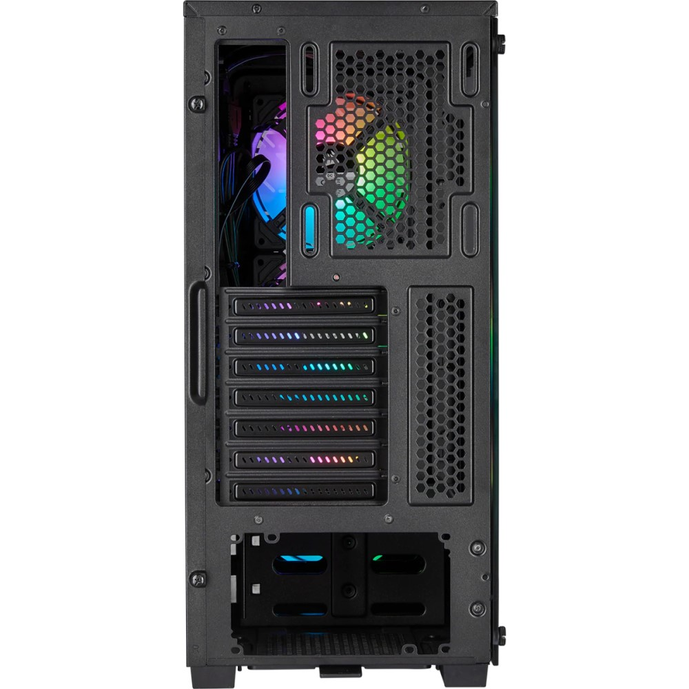 Corsair iCUE 220T RGB Airflow Tempered Glass Mid-Tower Smart Case — Black 7