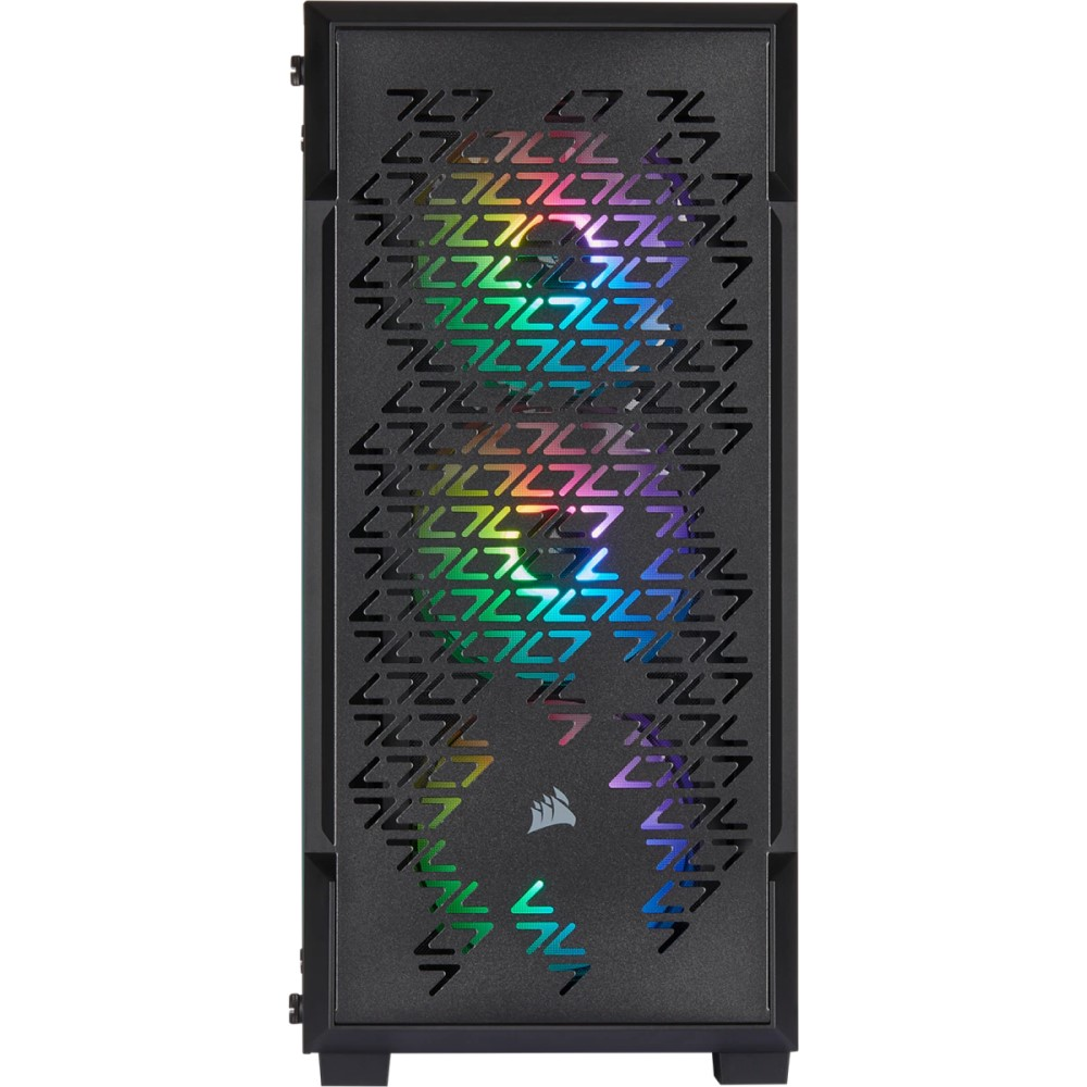 Corsair iCUE 220T RGB Airflow Tempered Glass Mid-Tower Smart Case — Black 6