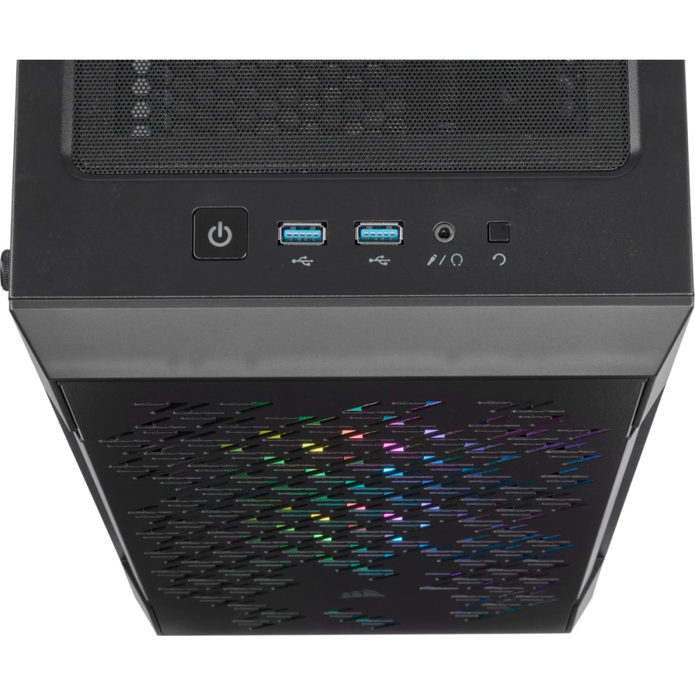 Corsair iCUE 220T RGB Airflow Tempered Glass Mid-Tower Smart Case — Black 4