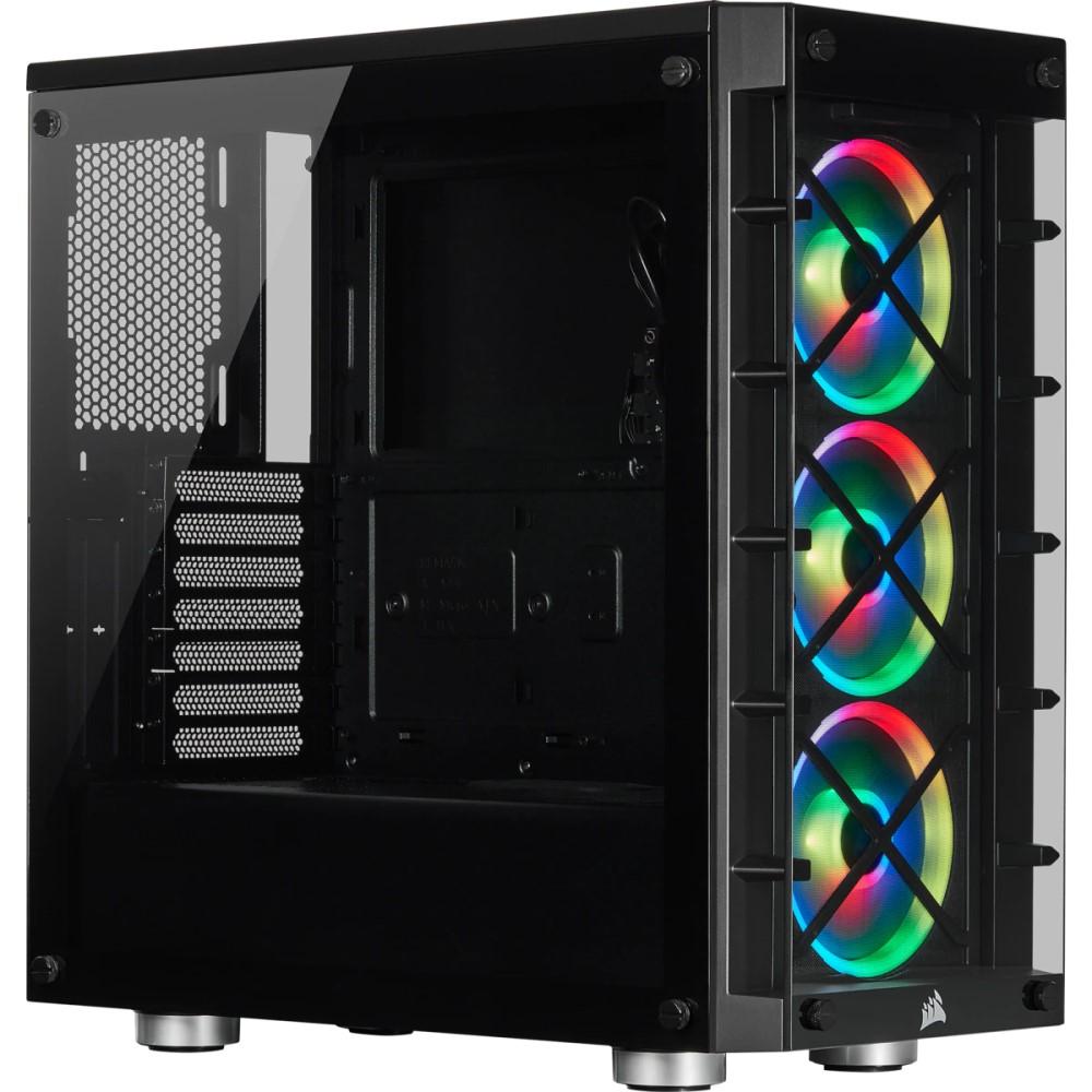 Corsair iCUE 465X RGB Mid-Tower ATX Smart Case — Black 1