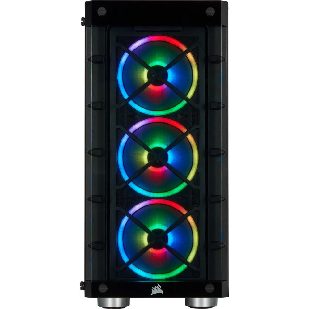Corsair iCUE 465X RGB Mid-Tower ATX Smart Case — Black 3