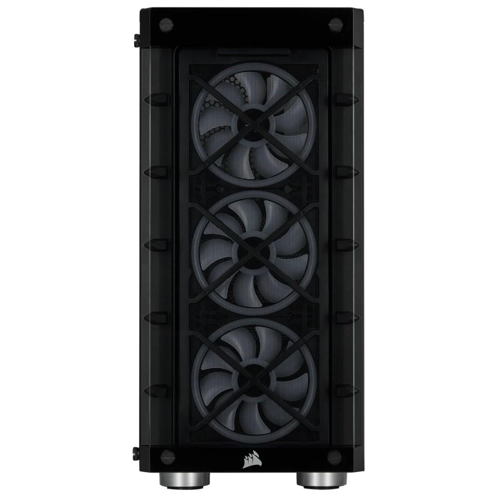 Corsair iCUE 465X RGB Mid-Tower ATX Smart Case — Black 2