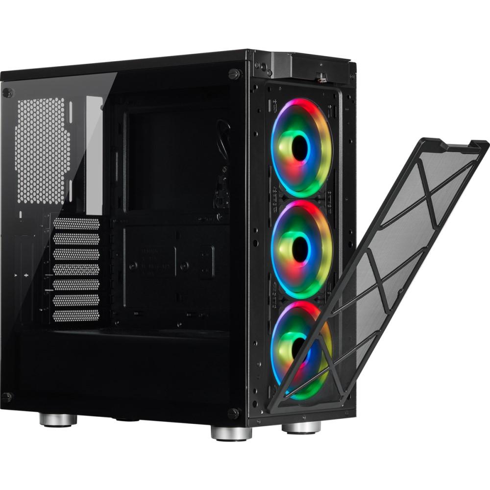 Corsair iCUE 465X RGB Mid-Tower ATX Smart Case — Black 5