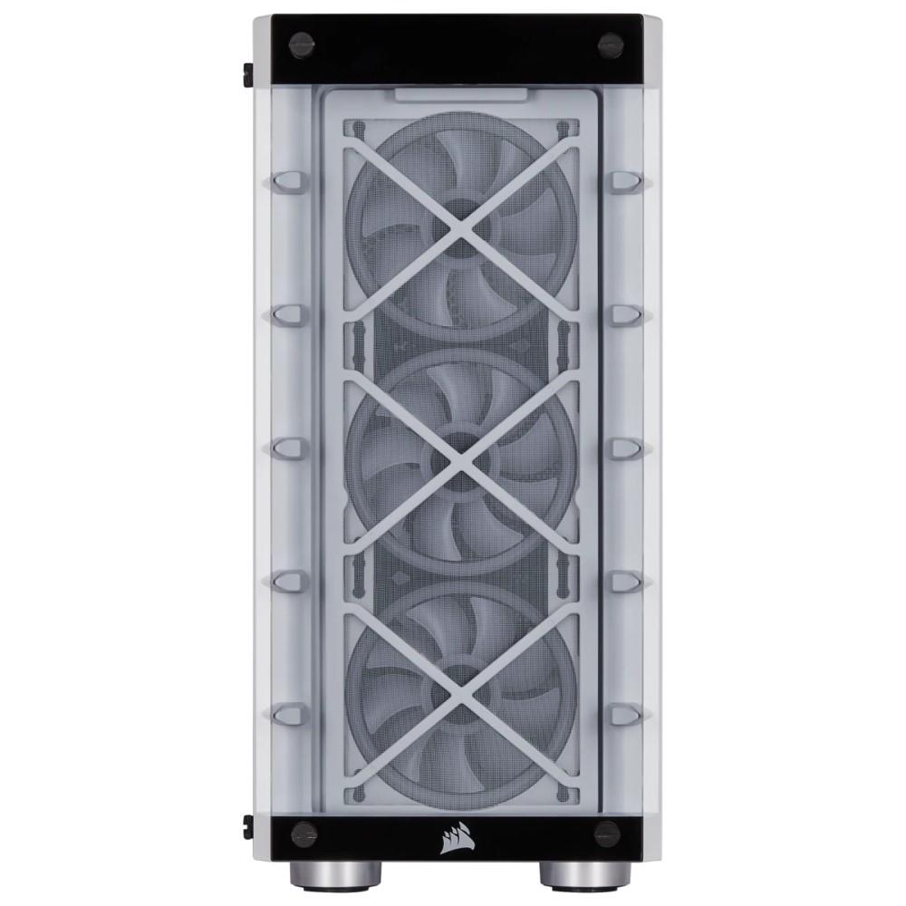 Corsair iCUE 465X RGB Mid-Tower ATX Smart Case — White 5