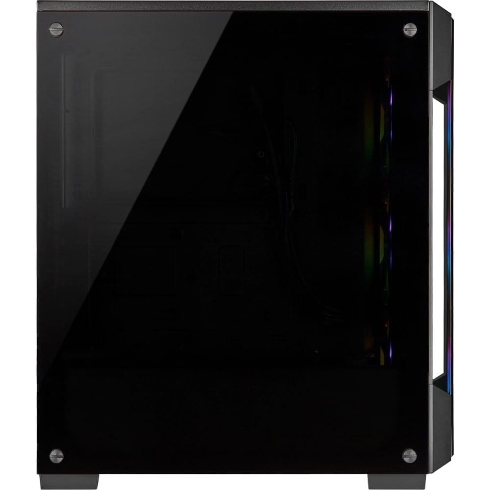 Corsair iCUE 220T RGB Tempered Glass Mid-Tower Smart Case — Black 8