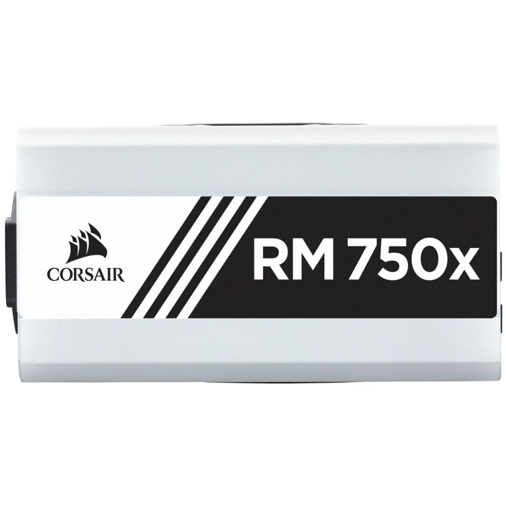 Corsair RMx White Series RM750x — 750 Watt 80 PLUS Gold Certified Fully Modular PSU (UK) 10
