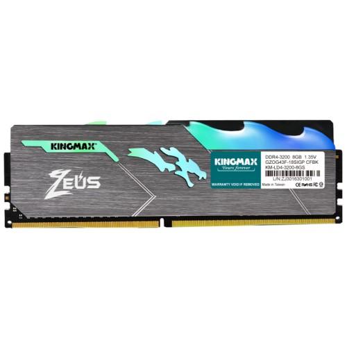 Kingmax Zeus Dragon DDR4 RGB Gaming RAM 8GB 3200Mhz Single 1