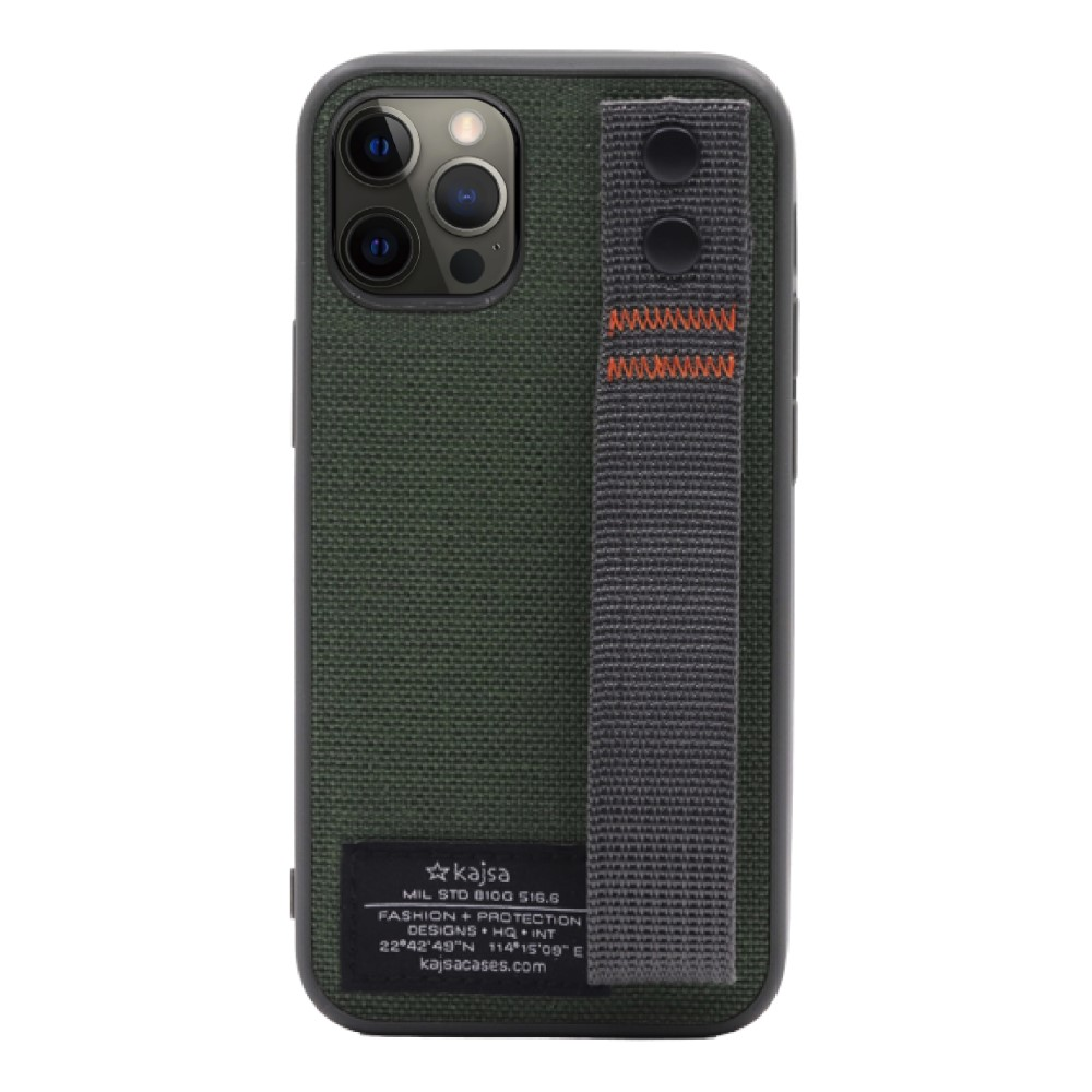 Kajsa Military Collection (Straps back) case for iPhone 12 Series 10