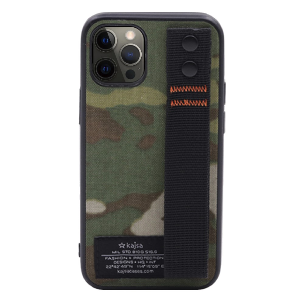 Kajsa Military Collection (Straps back) case for iPhone 12 Series 8