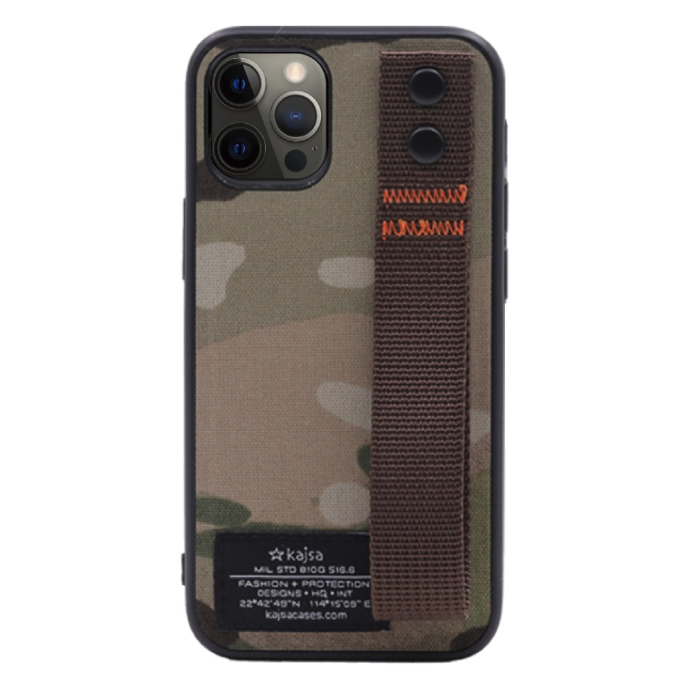 Kajsa Military Collection (Straps back) case for iPhone 12 Series 6