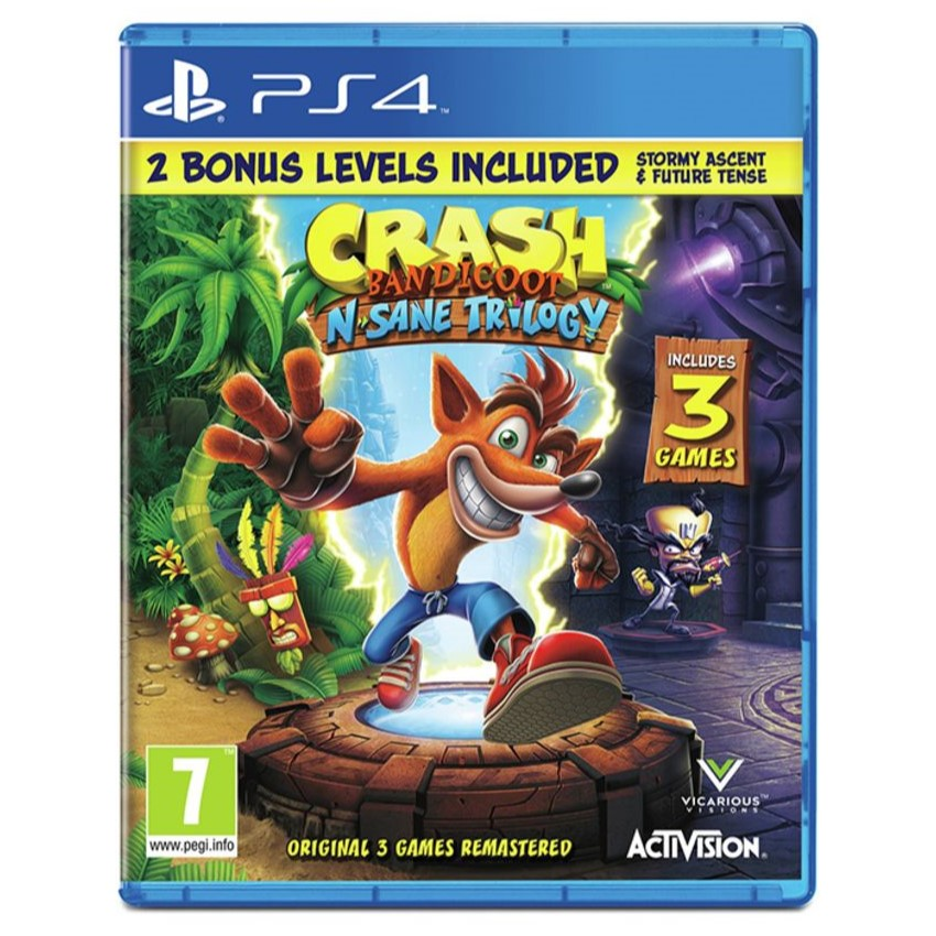 Crash Bandicoot N.Sane Trilogy - For PlayStation 4 - PS46723 1