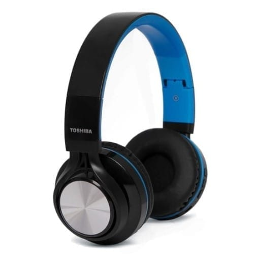 Toshiba Foldable Wireless Headphone + 1 FREE - RZE-BT200H 7