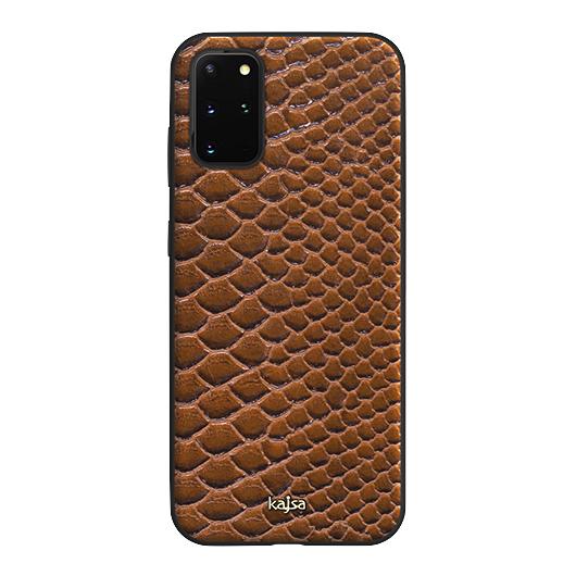 Kajsa Glamorous Collection (Snake Pattern) Back Case for Samsung Galaxy S20 Series 10