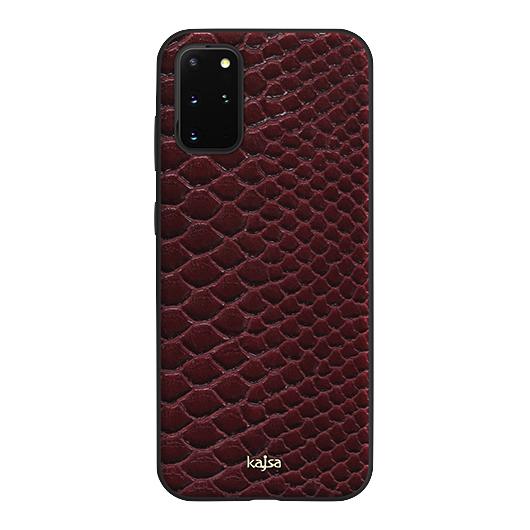 Kajsa Glamorous Collection (Snake Pattern) Back Case for Samsung Galaxy S20 Series 9
