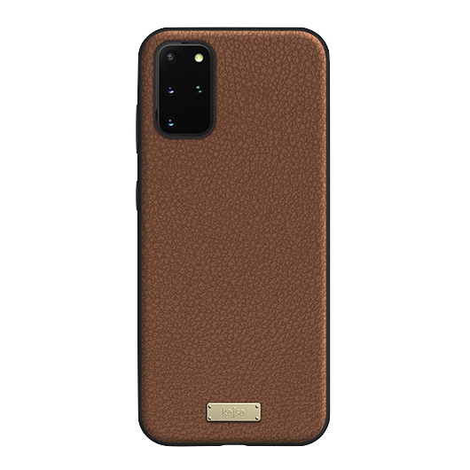 Kajsa Luxe Collection (Genuine Leather) Back Case for Samsung Galaxy S20 Series 10