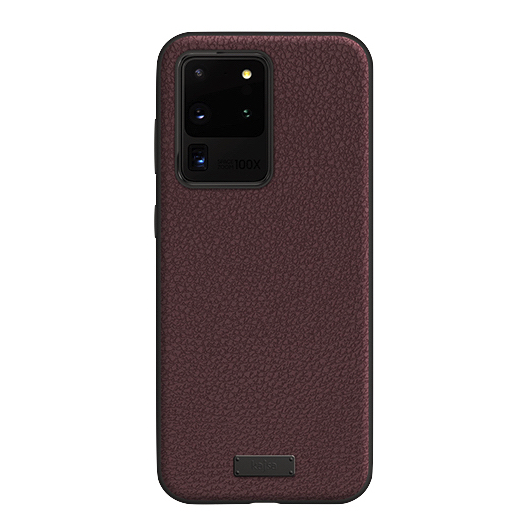 Kajsa Luxe Collection (Genuine Leather) Back Case for Samsung Galaxy S20 Series 6