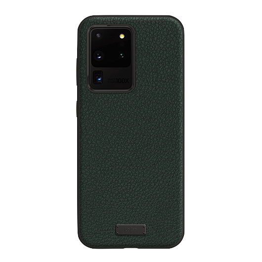 Kajsa Luxe Collection (Genuine Leather) Back Case for Samsung Galaxy S20 Series 4