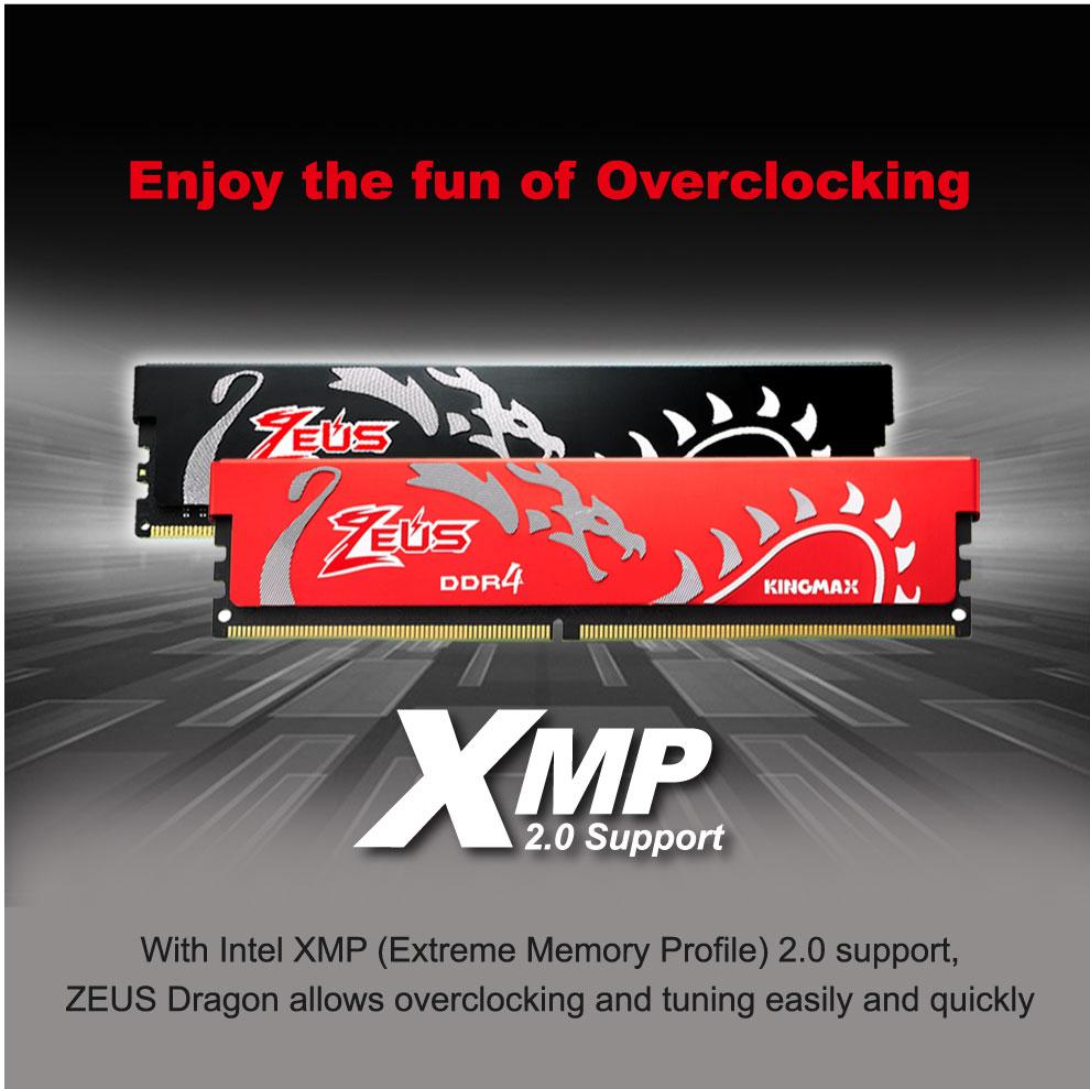 Kingmax Zeus Dragon DDR4 Gaming RAM 8GB 3200Mhz Single 7