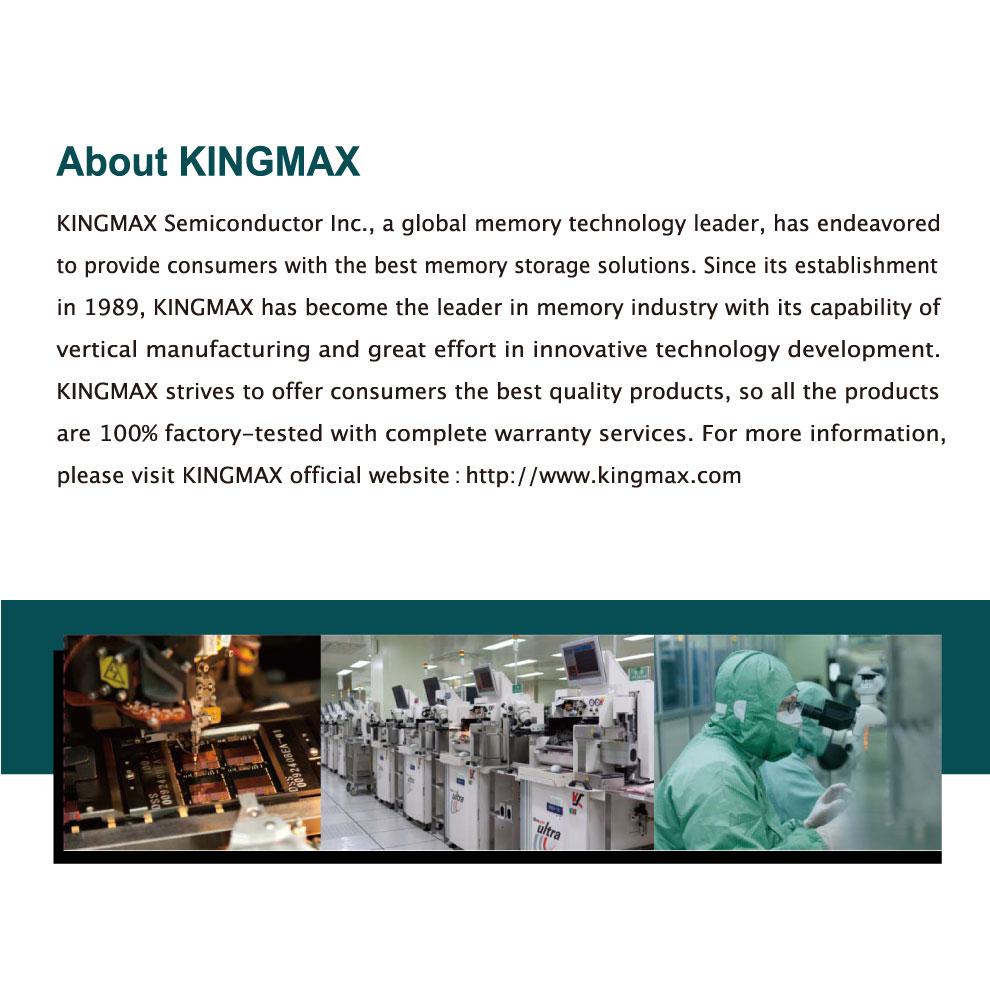 Kingmax Zeus Dragon DDR4 Gaming RAM 8GB 3200Mhz Single 10