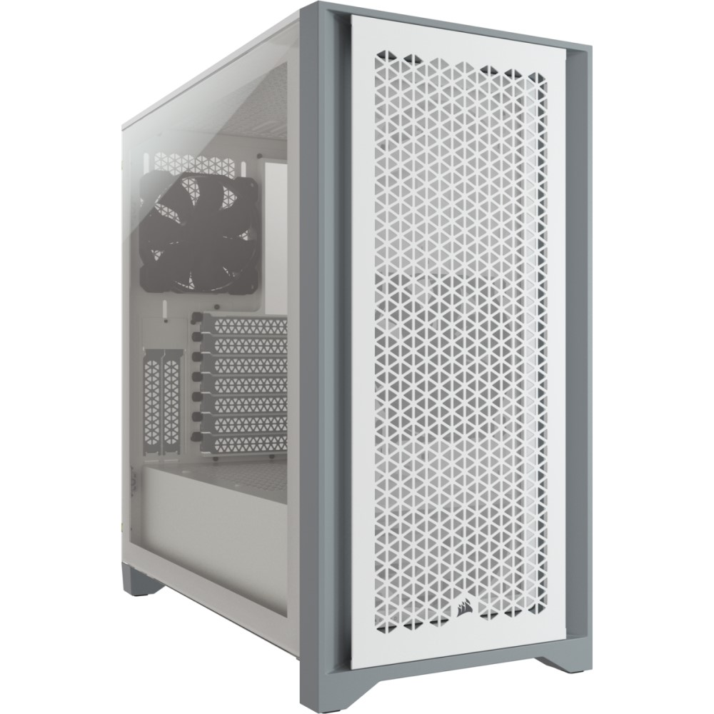 Corsair 4000D AIRFLOW Tempered Glass Mid-Tower ATX Case — White 1