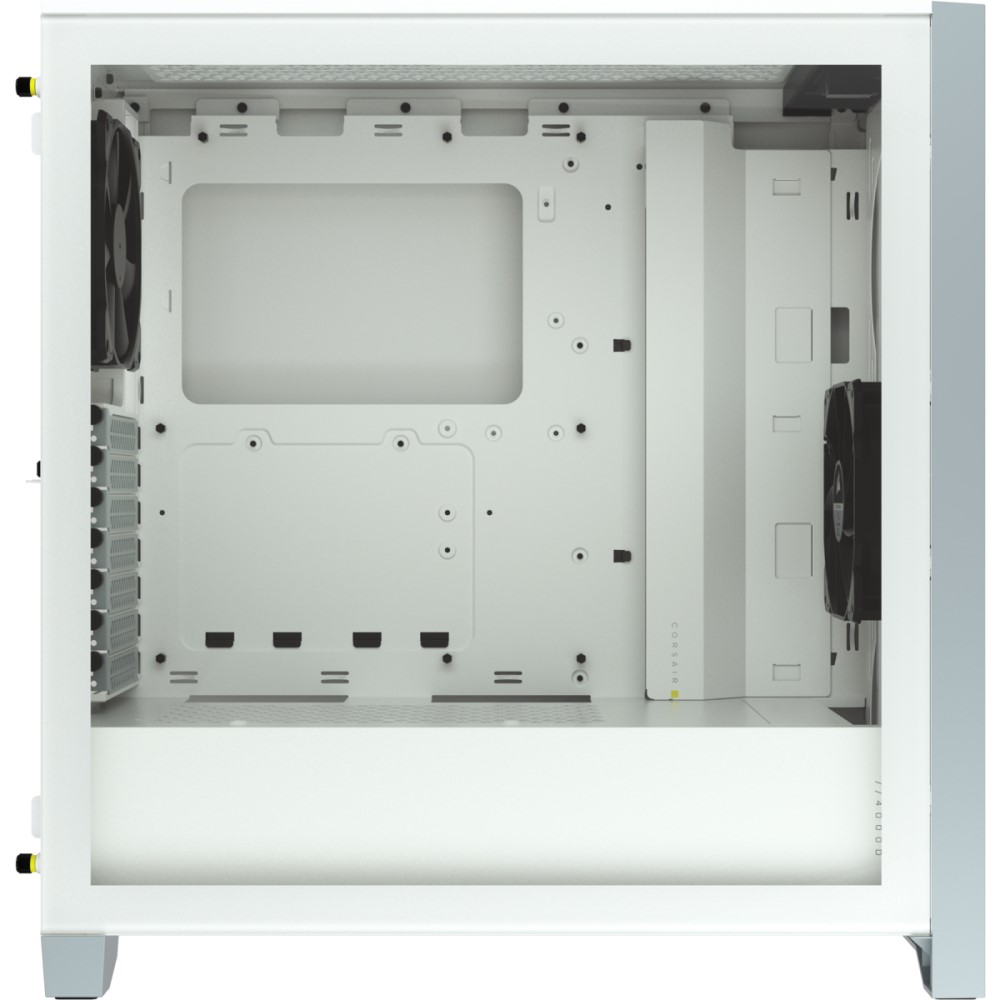 Corsair 4000D AIRFLOW Tempered Glass Mid-Tower ATX Case — White 15