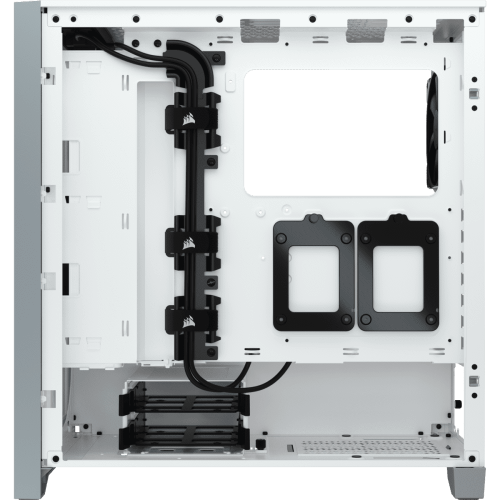 Corsair 4000D AIRFLOW Tempered Glass Mid-Tower ATX Case — White 14