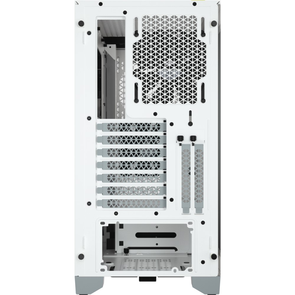Corsair 4000D AIRFLOW Tempered Glass Mid-Tower ATX Case — White 11
