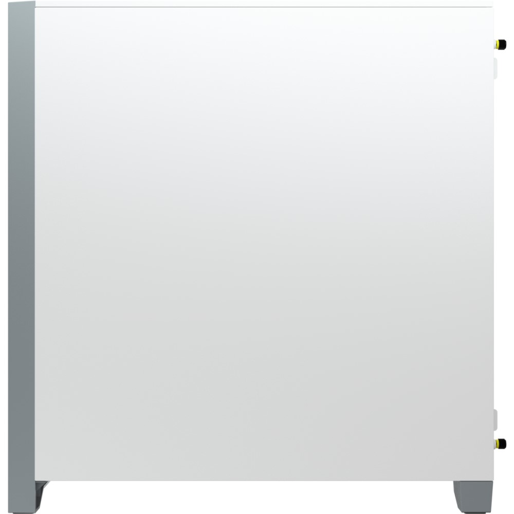 Corsair 4000D AIRFLOW Tempered Glass Mid-Tower ATX Case — White 9