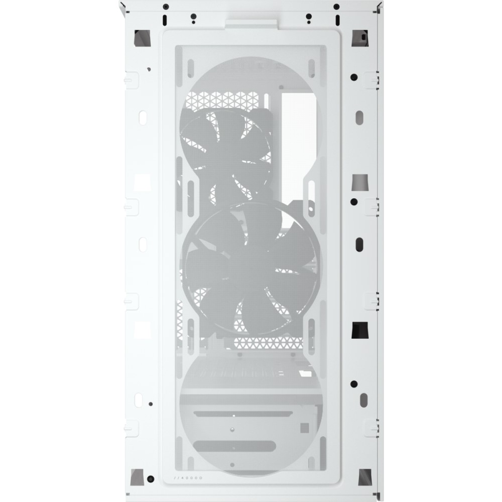 Corsair 4000D AIRFLOW Tempered Glass Mid-Tower ATX Case — White 16
