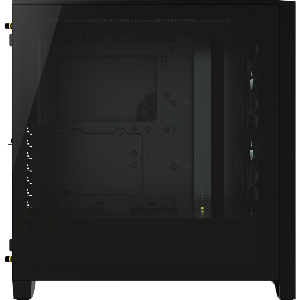 Corsair iCUE 4000X RGB Tempered Glass Mid-Tower ATX Case — Black 13