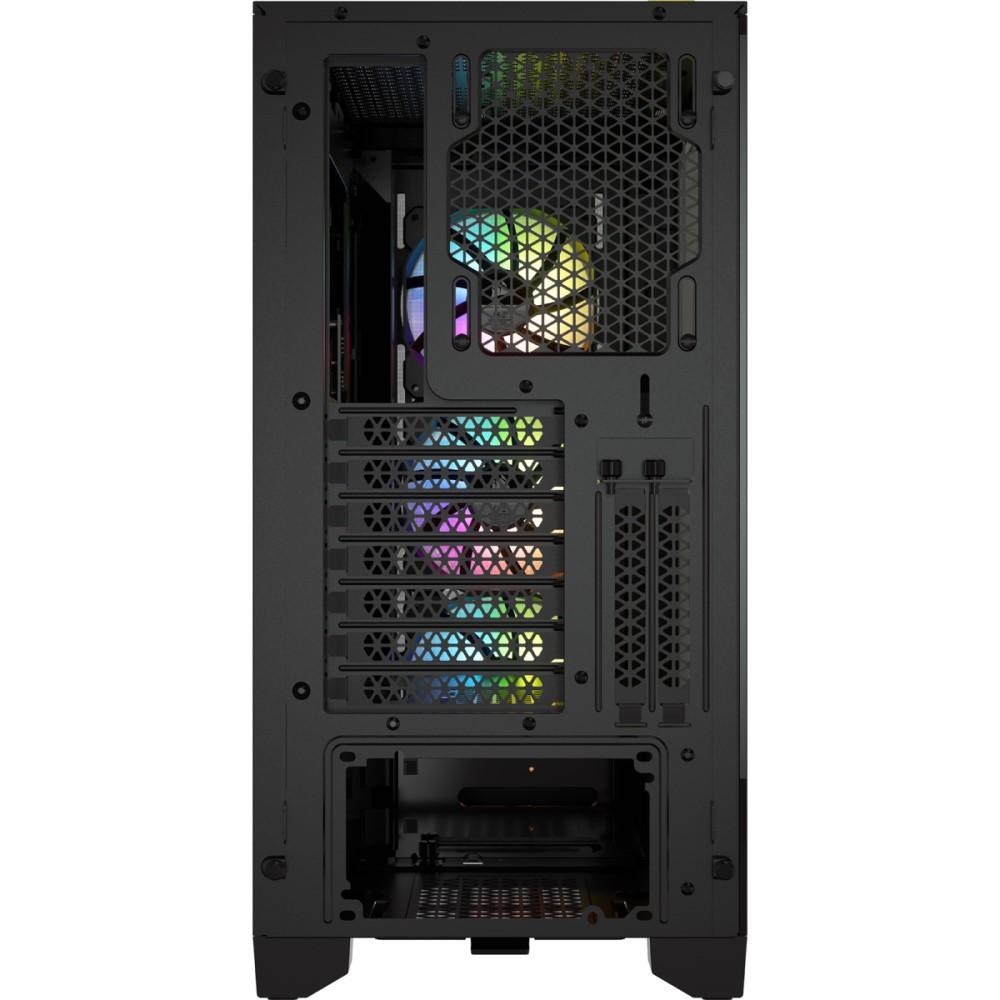 Corsair iCUE 4000X RGB Tempered Glass Mid-Tower ATX Case — Black 6