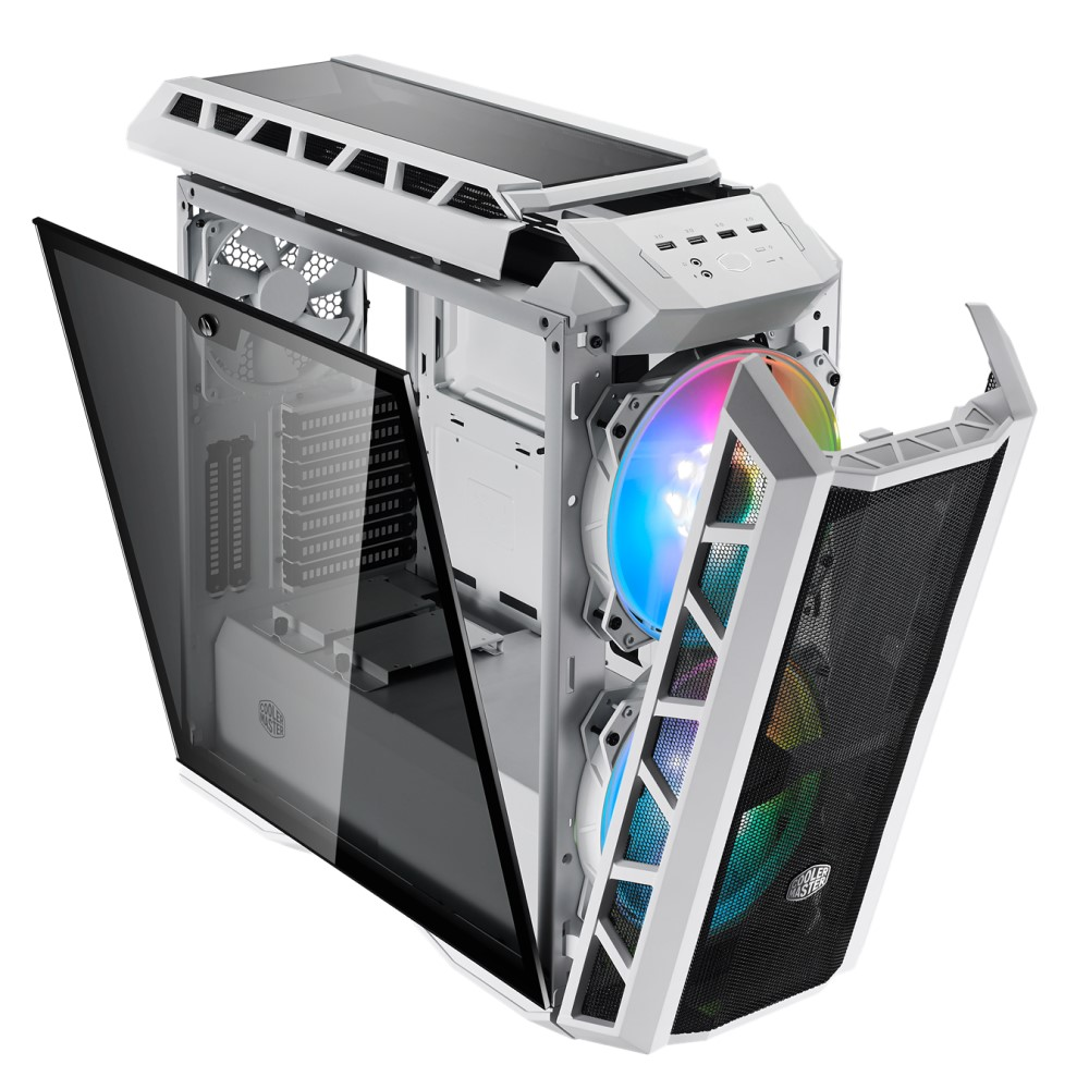 Cooler Master MasterCase H500P Mesh White ARGB Case 7