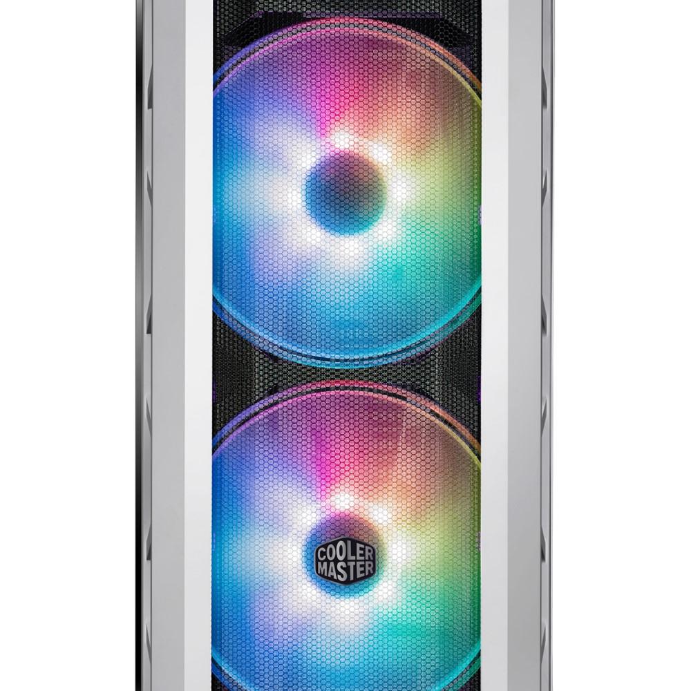 Cooler Master MasterCase H500P Mesh White ARGB Case 4