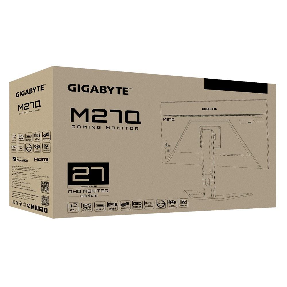 Gigabyte M27Q Gaming Monitor QHD 170Hz 0.5ms IPS 9