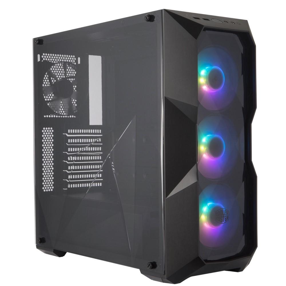 Cooler Master MasterBox TD500 Mesh Black ARGB case 1