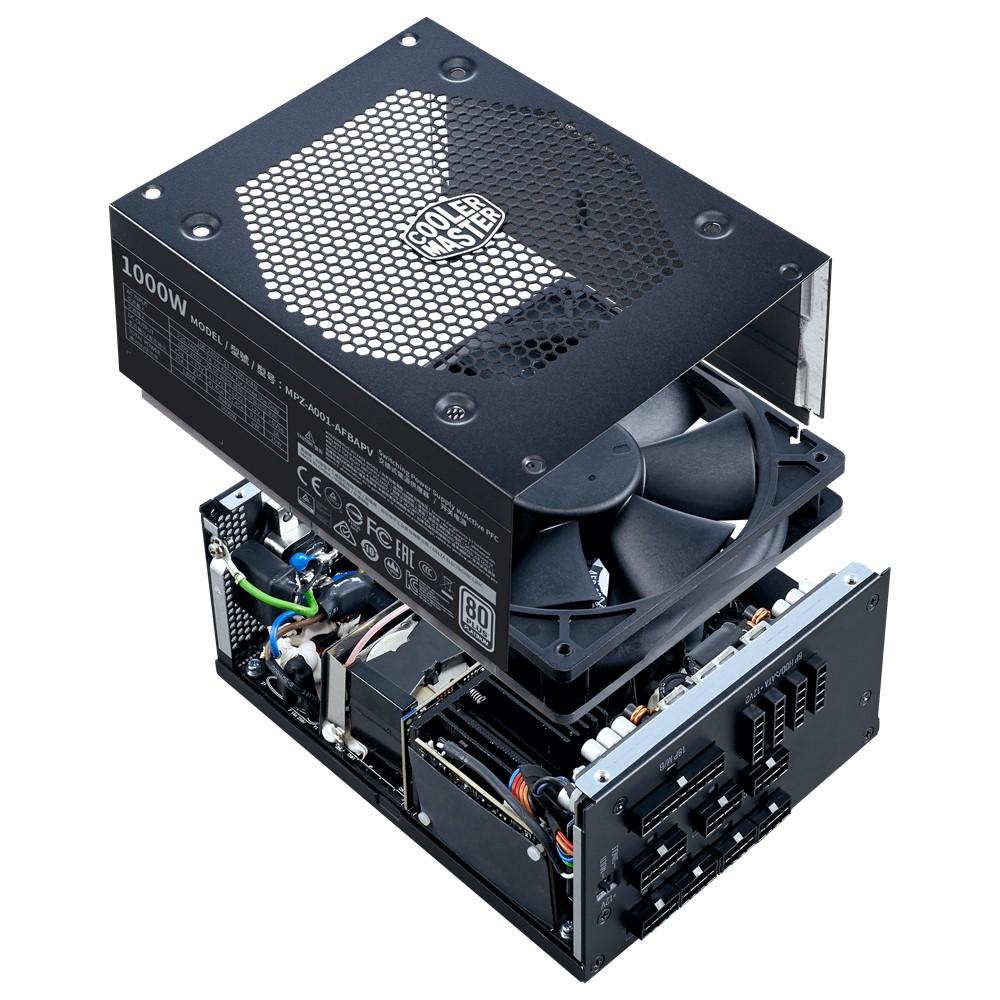 Cooler Master V1000 Full-Modular 80 Plus Platinum 1000W Power Supply 7