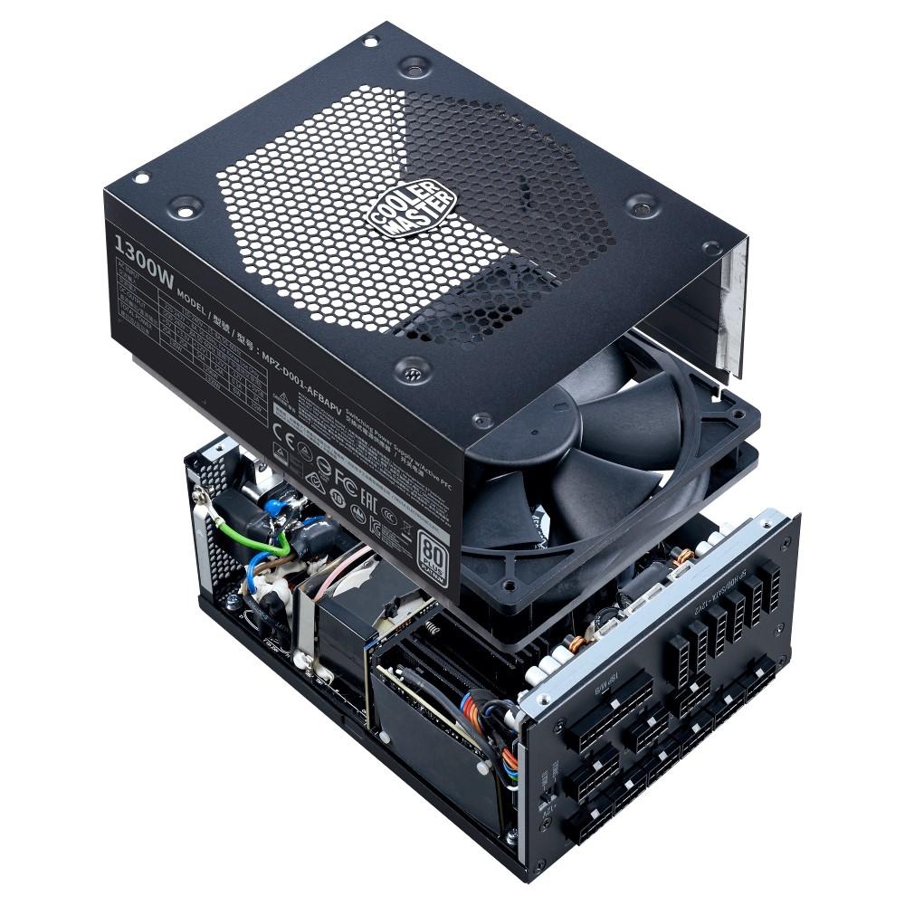Cooler Master V1300 Full-Modular 80 Plus Platinum 1300W Power Supply 10