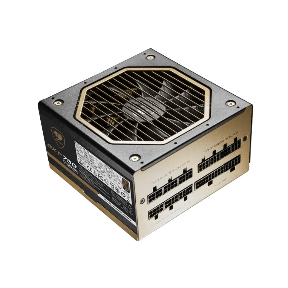 Cougar GX-F AURUM 750W Top Quality and High Performance 80 PLUS Gold certified PSU 7