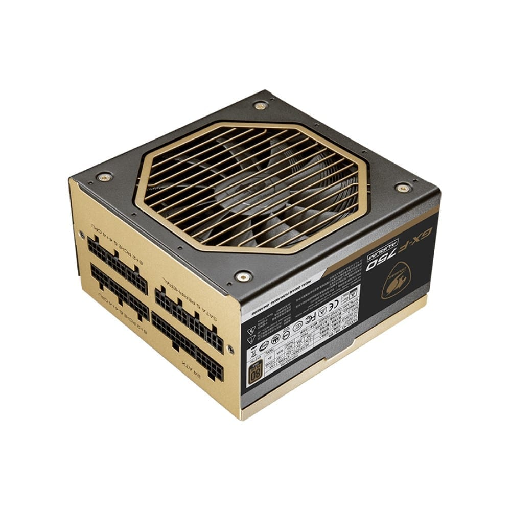 Cougar GX-F AURUM 750W Top Quality and High Performance 80 PLUS Gold certified PSU 3